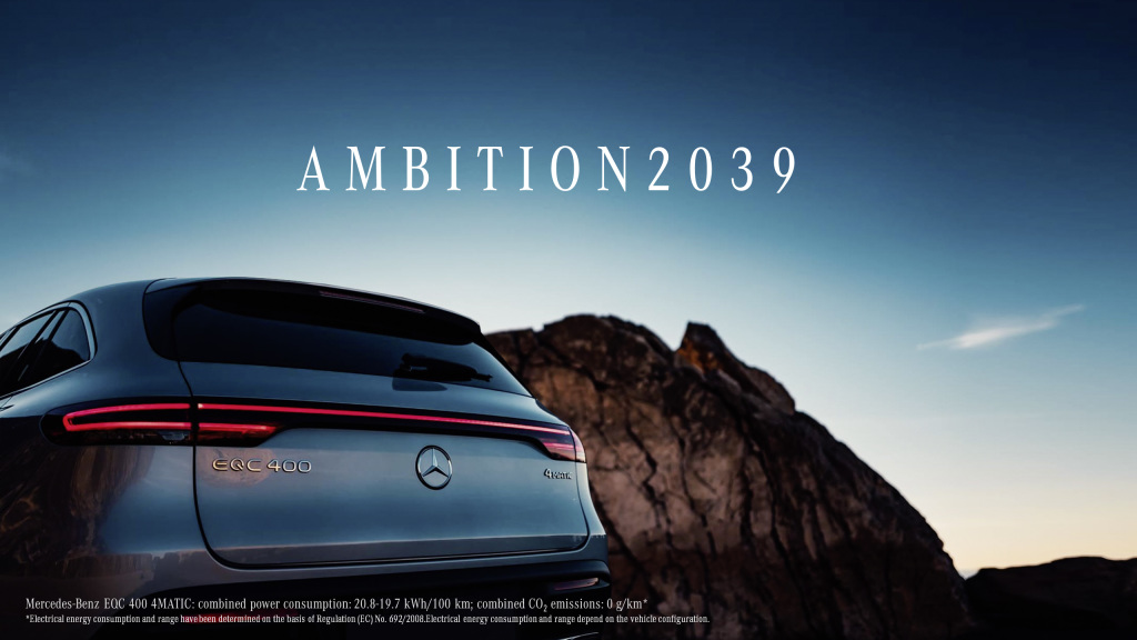 Daimler commits to carbon-neutral cars in 2030s as EV race intensifies